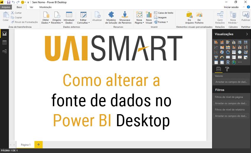Como alterar a fonte de dados no Power BI-0