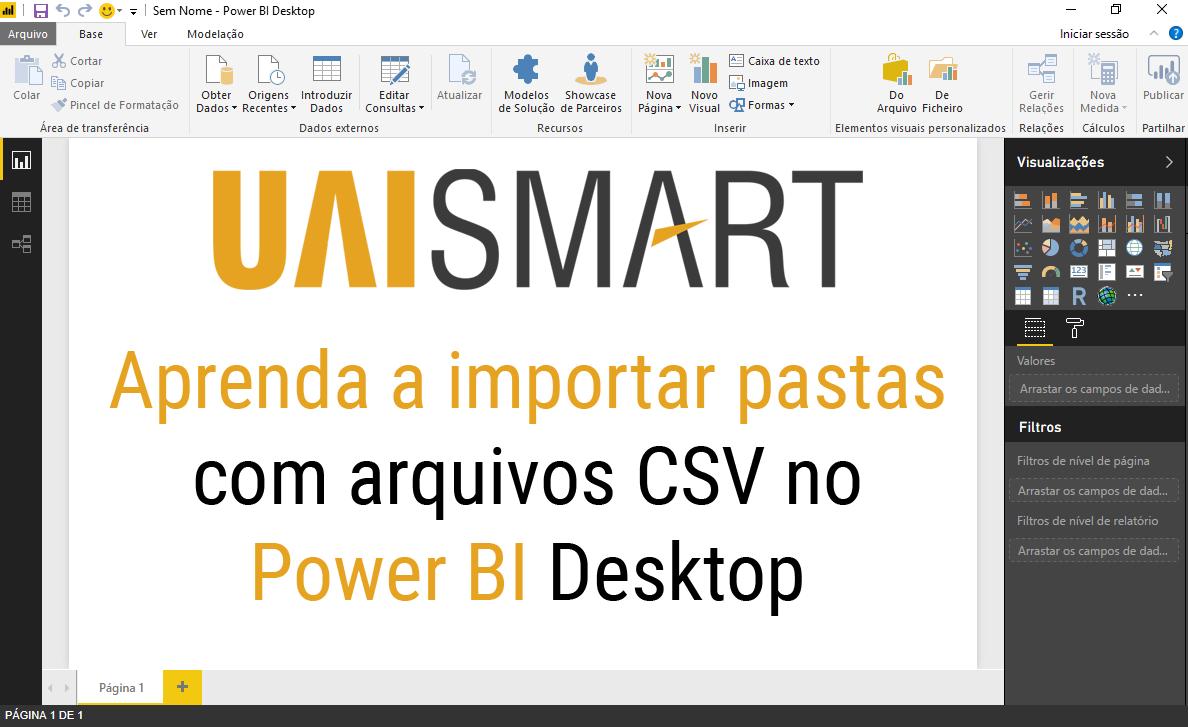 Importar arquivos de uma pasta no Power BI Desktop-0