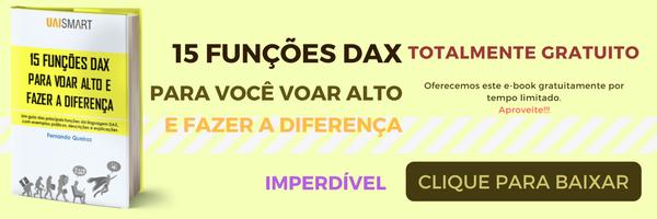 15 funções DAX mais usadas