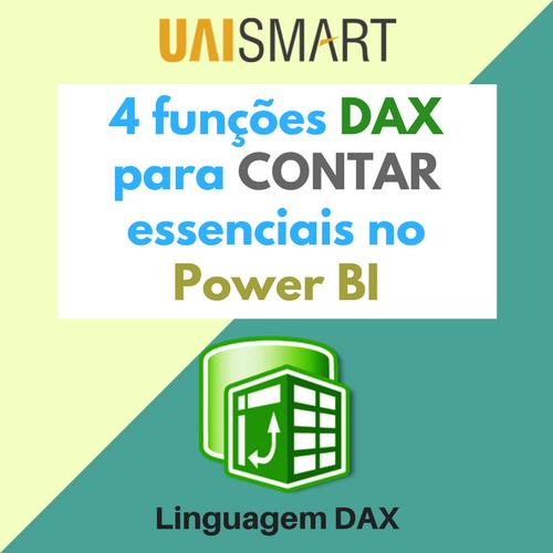 funções DAX para contar 2