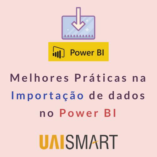 Importação de dados no Power BI miniatura