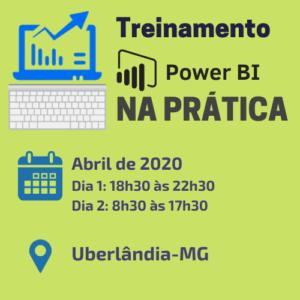 Treinamento Power BI Uberlândia Abr/20