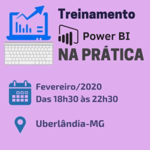 Treinamento Power BI Uberlandia Fev/20