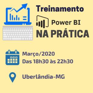 Treinamento de Power BI em Uberlândia - Mar/20